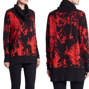 DVF | Ahiga Cowl-Neck Floral Daze Sweater